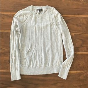 Banana Republic grey sweater size small